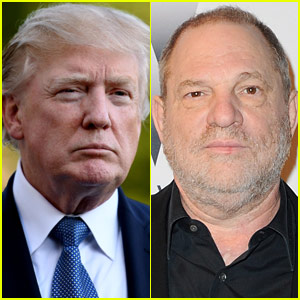 Donald Trump Weighs In on Harvey Weinstein's Sexual Harassment Allegations, Brings Up 'Locker Room Talk' Again