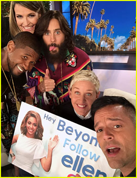 Ellen Continues Plan to Get Beyonce to Follow Back on Instagram & Enlists Her Famous Friends to Help!