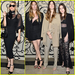 Fergie & Haim Sisters Sit Front Row at Givenchy Show