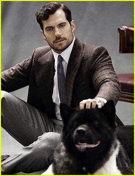 Henry Cavill's Dog Kal Makes Cameo in 'The Rake' Shoot!