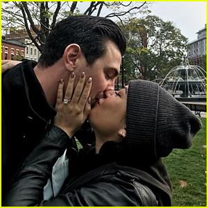 Janel Parrish Engaged to Chris Long - See Her Ring!