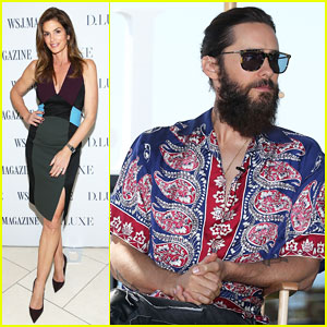 Jared Leto Says He's 'Obsessed with Efficiency' at Wall Street Journal's D.Luxe Conference!