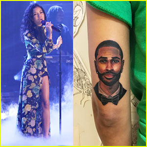 Jhené Aiko Gets Boyfriend Big Sean's Face Tattooed on Her Arm Ahead of 'Tonight Show' Performance!