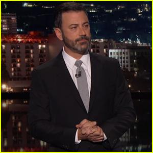 Jimmy Kimmel Gets Emotional Talking About Hometown Las Vegas Shooting - Watch Now