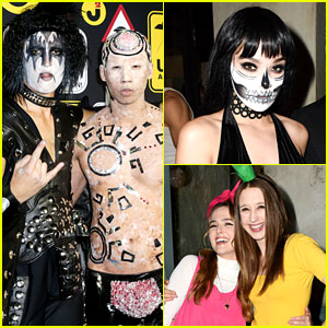 Just Jared's Final 31 Days of Halloween #TBT to Last Year's Alien-Themed Party!