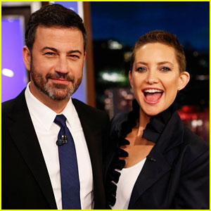 Kate Hudson Admits to Jimmy Kimmel That She Panicked Before Shaving Her Head - Watch Here!