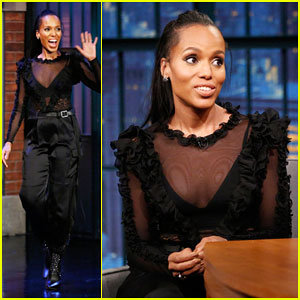 Kerry Washington Has Her Eye on 'Scandal's Prada Bags Once Show Wraps!