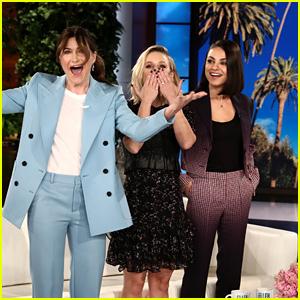 Kristen Bell, Mila Kunis & Kathryn Hahn Share Hilarious 'Bad Mom' Stories on 'Ellen'!