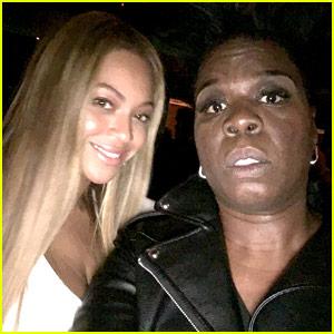 Leslie Jones Was So Nervous Getting Selfies with Beyonce & Jay-Z!