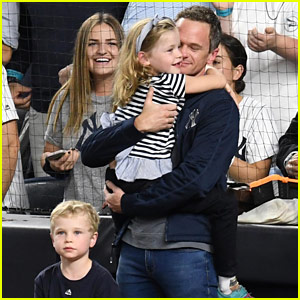 Neil Patrick Harris Sings National Anthem at Yankees Game While Family Cheers Him On!