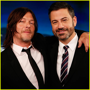 Norman Reedus Talks Being Naked on 'The Walking Dead' on 'Jimmy Kimmel Live' - Watch Here!