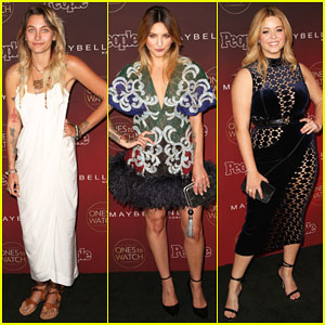 Paris Jackson, Julia Michaels, Sasha Pieterse & More Step Out for People Mag's Ones To Watch Party 2017!