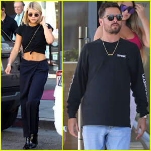 Scott Disick & Sofia Richie Couple Up For Shopping Trip