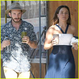 Sophia Bush Grabs Coffee with Friend Jedidiah Jenkins