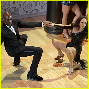 Terrell Owens & Cheryl Burke Become Spies for Highly Rated 'DWTS' Routine! (Video)