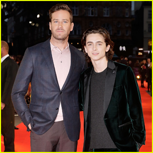 Timothee Chalamet & Armie Hammer Premiere 'Call Me By Your Name' in London!