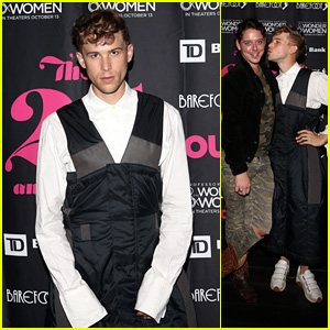 Tommy Dorfman Looks Chic at 'Out' Celebration in NYC!