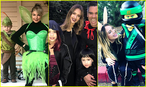 39 Celebrities & Their Kids Dress Up for Halloween 2017 (Pics!)