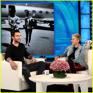 Adam Levine Reveals the Gender of His Second Baby on 'Ellen' - Watch!