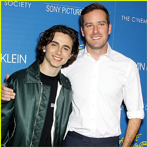 Armie Hammer & Timothee Chalamet Continue Their Press Tour in New York!