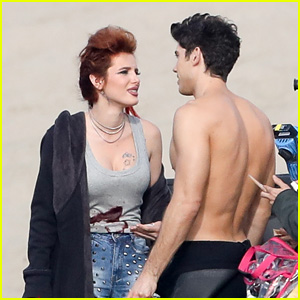 Bella Thorne Hits the Beach with Shirtless Carter Jenkins for 'Famous in Love' Season 2!