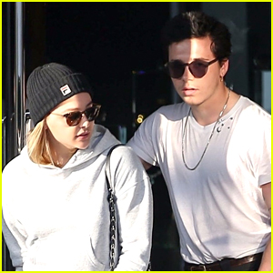 Brooklyn Beckham & Chloe Moretz Couple Up for Afternoon Date