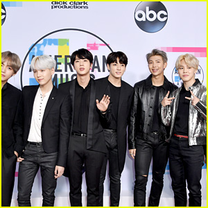BTS Pose on the Red Carpet Ahead of Historic Performance at American Music Awards 2017!
