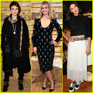 Cara Delevingne, January Jones, Jessica Szohr, & More Step Out for Fall Fashion Event