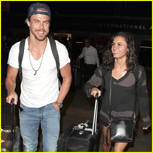 Derek Hough & Girlfriend Hayley Erbert Look So Happy After Cabo San Lucas Trip