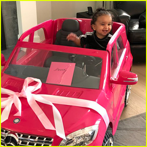 Rob Kardashian Gave Baby Dream a Car For Her First Birthday!