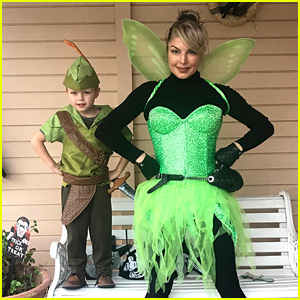 Fergie & Her Son Axl Dress as Peter Pan Characters for Halloween! (Photo)