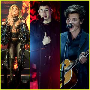 Lady Gaga, Nick Jonas & Shawn Mendes to Perform at American Music Awards 2017!