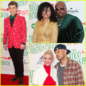 Garrett Clayton, CeeLo Green & More Step Out for Hollywood Christmas Parade 2017!