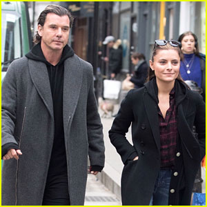 Gavin Rossdale Takes Quick Trip to London With Girlfriend Sophia Thomalla