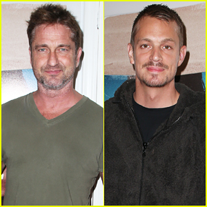 Gerard Butler & Joel Kinnaman Step Out to Support 'Bunker77' Documentary Premiere!
