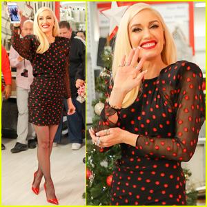 Gwen Stefani Gets Festive