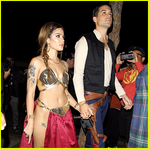 Halsey & G-Eazy Channel Princess Leia & Han Solo at Kendall Jenner's Halloween Party!