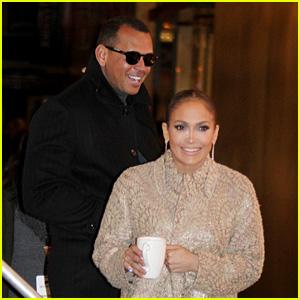 Jennifer Lopez's Boyfriend Alex Rodriguez Visits Her on 'Second Act' Set!