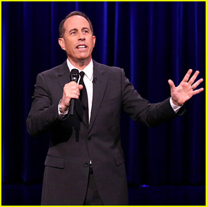 Jimmy Fallon Challenges Jerry Seinfeld to a 'Stand-Up Battle'