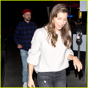 Jessica Biel & Justin Timberlake Have a Date Night in Los Angeles