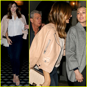 Katharine McPhee Joins David Foster & Family at His Birthday Dinner