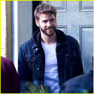 Liam Hemsworth Looks Handsome While Filming 'Killerman' in Georgia!