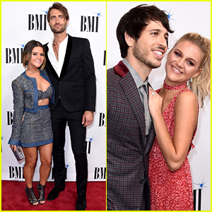 Maren Morris & Kelsea Ballerini Join Their Fiances at BMI Country Awards