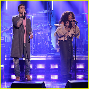 Maroon 5 & SZA Perform 'What Lovers Do' Together on 'Tonight Show' - Watch Here!
