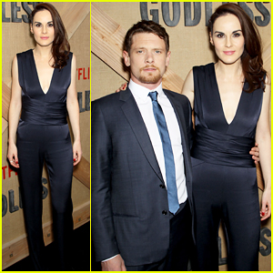 Michelle Dockery & Jack O'Connell Celebrate 'Godless' Premiere in NYC - Watch Trailer!