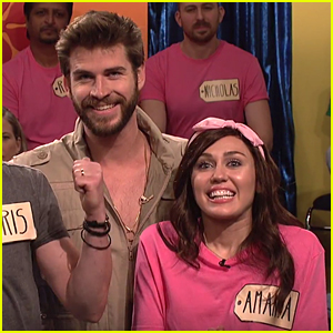 Miley Cyrus is Joined by Fiance Liam Hemsworth on 'SNL' - Watch Now!