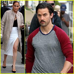Milo Ventimiglia Joins Jennifer Lopez on 'Second Act' Set