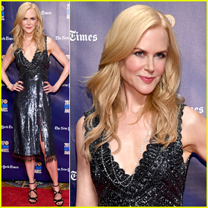 Nicole Kidman Attends Gotham Awards 2017 as Actress Tribute Honoree!