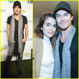 Nikki Reed & Ian Somerhalder Couple Up at 'Kiss The Ground' Book Launch!