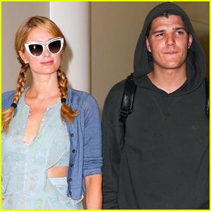 Paris Hilton & Chris Zylka Jet Off to Australia